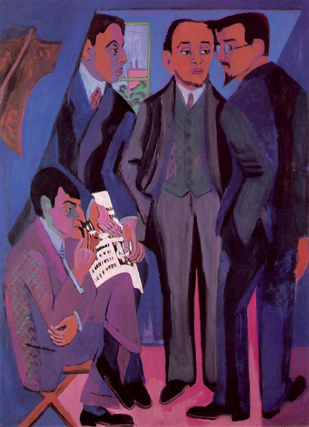 I pittori della Brucke, Kirchner, 1925