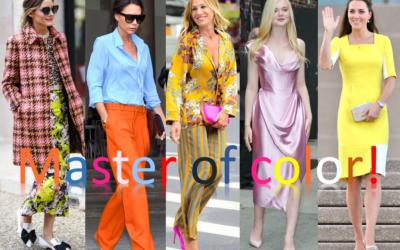 Master of color: le 5 icone di stile che usano (e osano) meglio il colore nei loro outfit!